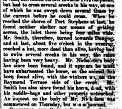 karuah flood 2yesarticle710752-3-003The Maitland Mercury & Hunter River General Advertiser, Saturday 15 July 1848, page 2, 3jpg