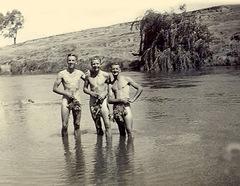 in river