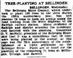 The Sydney Morning Herald Thursday 15 September 1938, page 7 raleigh railway