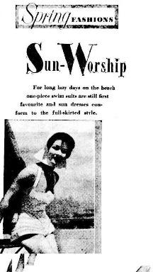 SWIMMERSThe Sunday Herald , Sunday 20 July 1952
