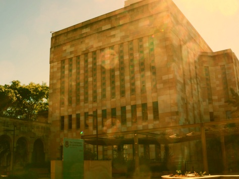 Library Building UQ - July 2014 - Lindale effect FX